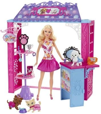 Barbie Shops with Doll Pet Boutique