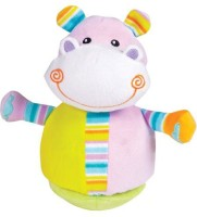 Small World Toys All About Ba Infant Roly Poly Hippo (Multicolor)