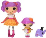 Lalaloopsy Dolls & Doll Houses Lalaloopsy Mini Littles Peanut Big Top/Squirt Lil Top