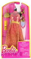 Barbie Dress Up Peach And Gold With Fashion Accessories (Multicolor)