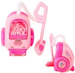 Tickles Dolls & Doll Houses Tickles Dolls Houshold appliances set with Iron+ Vaccum Cleaner+ Refrigrator+Washing Machine for Girls Toy