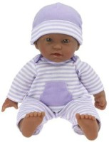 JC Toys La Baby 11-inch African American Washable Soft Body Play Doll For Children 18 Months Or Older, Designed By Berenguer (Multicolor)