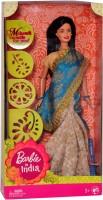 Mattel Barbie In India New (Multicolor)
