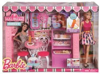 Barbie Shops With Doll Fashion Boutique (Multicolor)