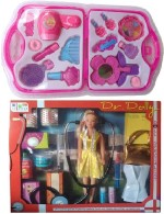 New Pinch Dolls & Doll Houses New Pinch combo of Dr.Dolly Doll First Aid Kit & fashion beauty set