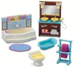 Fisher Price Dolls & Doll Houses Fisher Price Loving Family Bathroom