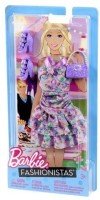 Barbie Fashionistas - Pastel Ruffle Dress With Accessories (Multicolor)