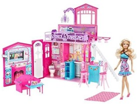 Mattel Barbie Glam House & Set