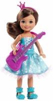 Barbie Rock 'N Royals Purple Pop Star Chelsea Doll (Blue)