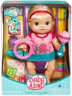 Baby Alive Dolls & Doll Houses Baby Alive Wets n Wiggles Blonde