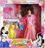 Ruppiee Shoppiee Happy Pop Girl (Pink, Multicolor)