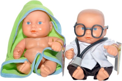 RK Toys Dolls & Doll Houses RK Toys Bath Boy with Doctor