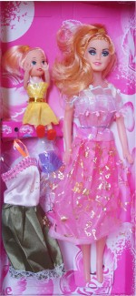 Wishkey Dolls & Doll Houses Wishkey Beautiful Fashion Dolls with dresses