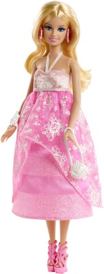 Barbie Dolls & Doll Houses Barbie Floral Gown Doll