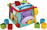 Mattel Fisher Price Play And Learn Activity Cube (Multicolor)