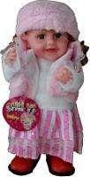 Adraxx Baby Stylish Doll In Stylish Clothes (Pink)