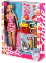 Mattel Barbie Doll and Kitchen Accessory Set - V8656 - Multicolor