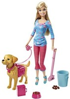 Barbie Potty Training Taffy Barbie Doll And Pet (Multicolor)