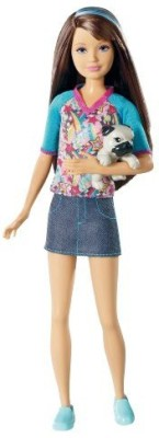 Barbie Dolls & Doll Houses Barbie Sisters Skipper And Pet