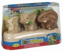 Fisher-Price Little People Zoo Talkers Elephant Family Pack - Brown