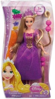 Disney Dolls & Doll Houses Disney Hairplay Rapunze