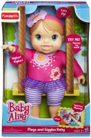 Funskool Baby Alive Plays And Giggles Blonde Baby Doll (Multicolor)