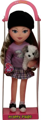 Ty Dolls & Doll Houses Ty Preppy Paige with Hat and Dog