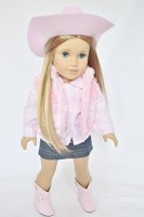 DollsHobbiesNmore WESTERN COWGIRL OUTFIT FOR AMERICAN GIRL DOLLS- DOLL CLOTHES (Multicolor)