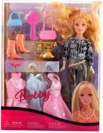Wishkey Dolls & Doll Houses Wishkey Multicolour Beautiful Fashion Doll set