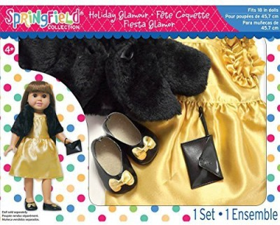 Fibre Craft Dolls & Doll Houses Fibre Craft Springfield Collection Holiday Glamour Gift Set