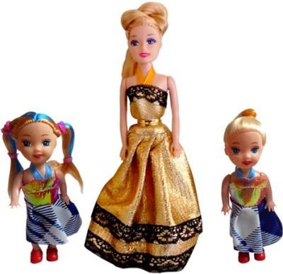 Mattel Dolls & Doll Houses 3 Pack