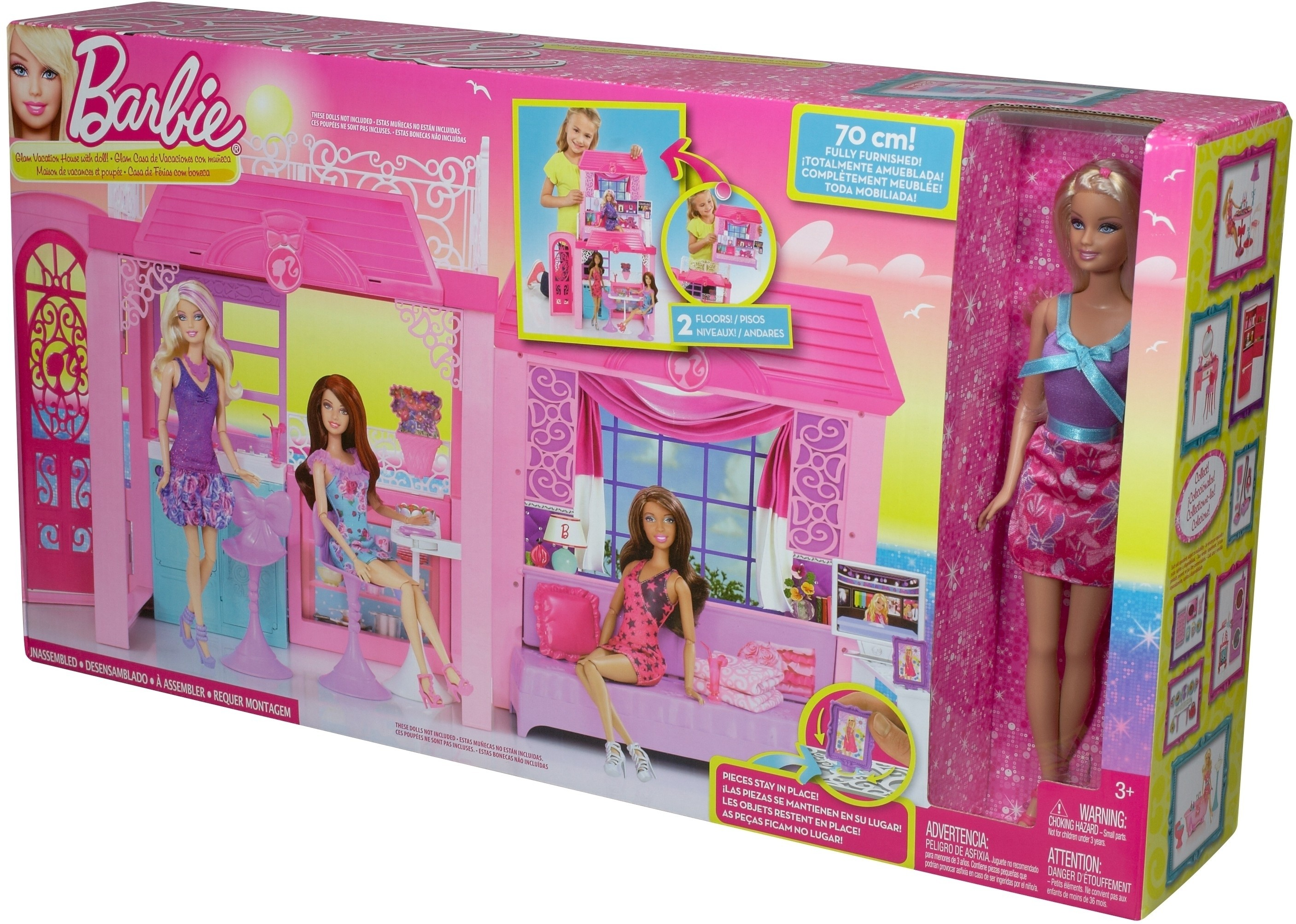 Barbie Glam Vacation House Glam Vacation House Shop For Barbie Products In India Toys For 3