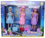 Barbie Dolls & Doll Houses Barbie Fashion Mermaid Series Doll Set