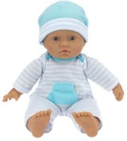 JC Toys , La Baby 11-inch Hispanic Washable Soft Body Play Doll For Children 18 Months Or Older, Designed By Berenguer (Multicolor)