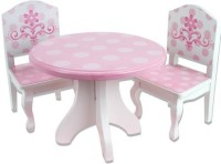 Sophia's 18 Inch Table & Chairs Set Fits American Girland Morepink (Pink)