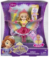 Disney Sofia The First 2-In-1 Costume Surprise Amber Butterfly Dress Doll BDH59 (Multicolor)