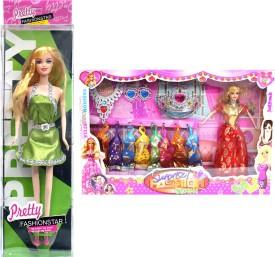 Amaya Pretty Fashion Doll134 Set Of 2
