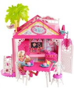 Barbie Dolls & Doll Houses Barbie Chelsea & Friends Clubhouse