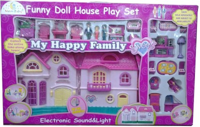 Ayaan Toys Dolls & Doll Houses Ayaan Toys Funny Doll House play set