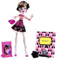 Monster High Art Class Draculaura Doll (Multicolor)
