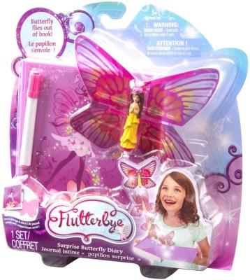 Flutterbye Dolls & Doll Houses Flutterbye Surprise Butterfly Diary