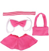 Magideal Casual Outfit For 45 Cm Doll (Pink)