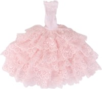 Magideal Party Outfit, Special Occasion Outfit For 40 - 45 Cm Doll (Pink)