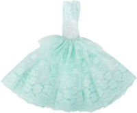 Magideal Party Outfit, Special Occasion Outfit For 40 - 45 Cm Doll (Green)