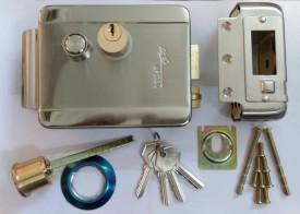 Alba Urmet Stainless Steel Matte door lock