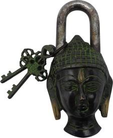 Art N Hub Brass Matte door lock