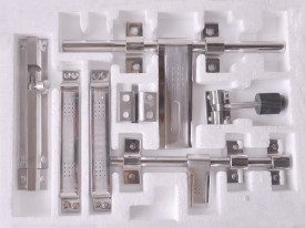 pioneersofalegs Stainless Steel Chrome door lock