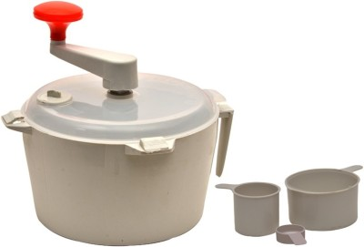 Kitchen Pro Atta Maker Plastic Spiral Dough Maker White available at Flipkart for Rs.130