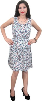 Indiatrendzs Women's Gathered Dress