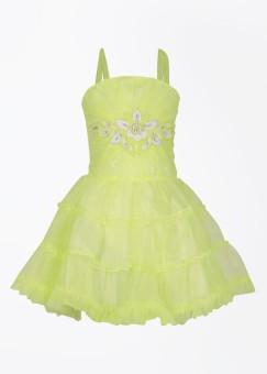 MCKY Girl's Gathered Dress